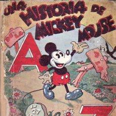 Tebeos: COMIC TAPA DURA, UNA HISTORIA DE MICKEY MOUSE, DE LA A A LA Z , WALT DISNEY AÑO 1934, ED. S. CALLEJA. Lote 6553870