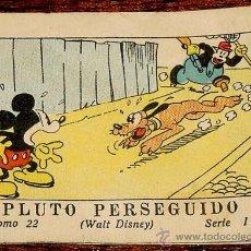 Tebeos: WALT DISNEY - PLUTO PERSEGUIDO - TOMO 22 - SERIE II - EDIT. CALLEJA 1935 - MIDE 7,5 X 5,5 CMS.. Lote 11808686
