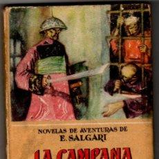 Tebeos: CALLEJA Nº 46, EMILIO SALGARI, LA CAMPANA DE PLATA, 226 PGS, TAPA DURA. Lote 17987144