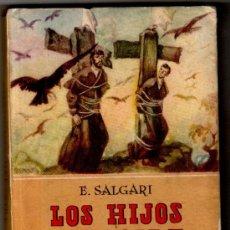 Tebeos: SALGARI, CALLEJA TAPA DURA Nº 47, LOS HIJOS DEL AIRE, EXCELENTE ESTADO. Lote 17633381