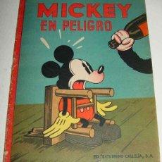 Tebeos: WALT DISNEY MICKEY EN PELIGRO ANTIGUO CUENTO EDITORIAL SATURNINO CALLEJA 1936 - MIDE 28 X 21 CM, 16. Lote 26205186