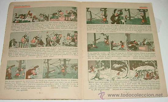 Tebeos: ANTIGUO CUENTO DE SATURNINO CALLEJA S.A. - MICKEY DETECTIVE - ILUSTRACIONES DE WALT DISNEY - EDITOR - Foto 2 - 27639480