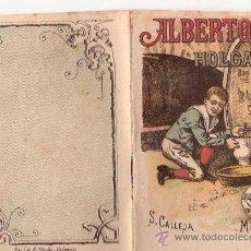 Tebeos: CUENTOS DE CALLEJA. ALBERTO EL HOLGAZAN. SERIE I. TOMO 8. 16 PAGINAS. 10X7CM. . Lote 24980569