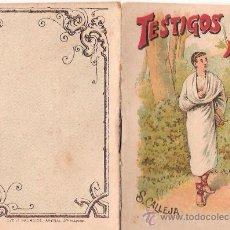 Tebeos: CUENTOS DE CALLEJA. TESTIGOS CON ALAS. SERIE I. TOMO 20. 16 PAGINAS. 10X7CM.. Lote 24991915