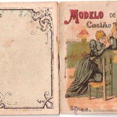 Tebeos: CUENTOS DE CALLEJA. MODELO DE CARIÑO. SERIE II. TOMO 21. 16 PAGINAS. 10X7CM.. Lote 24991976