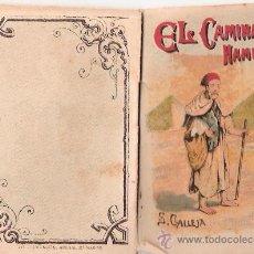 Tebeos: CUENTOS DE CALLEJA. EL CAMINANTE HABRIENTO. SERIE II. TOMO 27. 16 PAGINAS. 10X7CM.. Lote 24992004