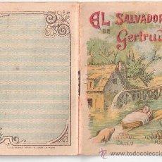 Tebeos: CUENTOS DE CALLEJA. EL SALVADOR DE GERTRUDIS. SERIE II. TOMO 28. 16 PAGINAS. 10X7CM.. Lote 24992037