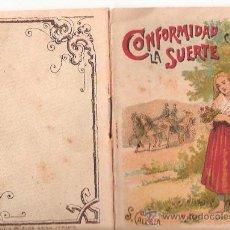 Tebeos: CUENTOS DE CALLEJA. CONFORMIDAD CON LA SUERTE. SERIE II. TOMO 29. 16 PAGINAS. 10X7CM.. Lote 24992049