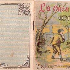 Tebeos: CUENTOS DE CALLEJA. LA ONZA DE ORO. SERIE II. TOMO 36. 16 PAGINAS. 10X7CM.. Lote 24992114