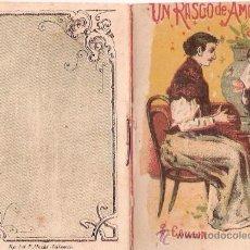Tebeos: CUENTOS DE CALLEJA. UN RASGO DE AMOR FILIAL. SERIE III. TOMO 48. 16 PAGINAS. 10X7CM.. Lote 24992420