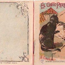 Tebeos: CUENTOS DE CALLEJA. EL GATO PEREZOSO. SERIE III. TOMO 58. 16 PAGINAS. 10X7CM.. Lote 24992527