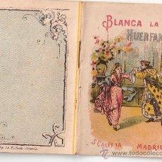 Tebeos: CUENTOS DE CALLEJA. BLANCA LA HUERFANITA. SERIE IV. TOMO 62. 16 PAGINAS. 10X7CM.. Lote 24992544