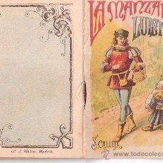 Tebeos: CUENTOS DE CALLEJA. LA MANZANA DE LUISITO. SERIE V. TOMO 100. 16 PAGINAS. 10X7CM.. Lote 24993294