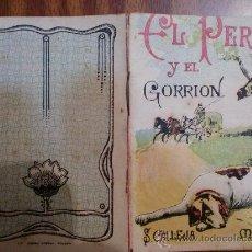 Tebeos: CUENTOS DE CALLEJA. EL PERRO Y EL GORRION. SERIE VI. TOMO 111. 16 PAGINAS. 10X7CM.. Lote 24994392