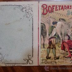 Tebeos: CUENTOS DE CALLEJA. BOFETADAS A LAS DOCE. SERIE VII. TOMO 122. 16 PAGINAS. 10X7CM.. Lote 24994656