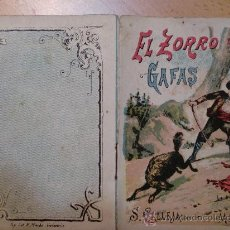 Tebeos: CUENTOS DE CALLEJA. EL ZORRO DE LAS GAFAS. SERIE VII. TOMO 124. 16 PAGINAS. 10X7CM.. Lote 24994726
