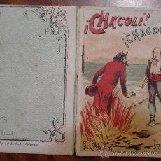 Tebeos: CUENTOS DE CALLEJA. CHACOLI CHACOLA. SERIE VII. TOMO 128. 16 PAGINAS. 10X7CM.. Lote 24994862