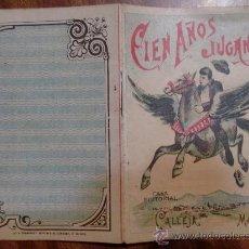 Tebeos: CUENTOS DE CALLEJA. CIEN AÑOS JUGANDO. SERIE VII. TOMO 134. 16 PAGINAS. 10X7CM.. Lote 24994991