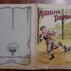 Tebeos: CUENTOS DE CALLEJA. MIGUELITO TARAMBANA. SERIE VII. TOMO 139. 16 PAGINAS. 10X7CM.. Lote 24995054