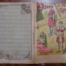 Tebeos: CUENTOS DE CALLEJA. EL TESORO DEL REY DE EGIPTO. SERIE VIII. TOMO 143. 16 PAGINAS. 10X7CM.. Lote 24995115
