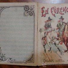 Tebeos: CUENTOS DE CALLEJA. EN CORCHOLIS. SERIE VIII. TOMO 158. 16 PAGINAS. 10X7CM.. Lote 24995645