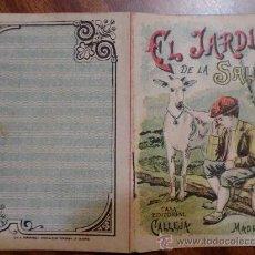 Tebeos: CUENTOS DE CALLEJA. EL JARDIN DE LA SALUD. SERIE IX. TOMO 161. 16 PAGINAS. 10X7CM.. Lote 24995706