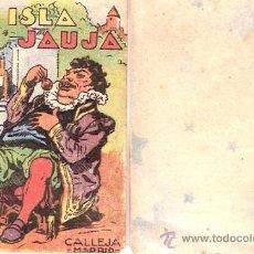 Giornalini: CUENTOS DE CALLEJA. LA ISLA DE JAUJA. SERIE IV. TOMO 80. 7X5CM.. Lote 25027831