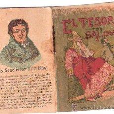 Livros de Banda Desenhada: CUENTOS DE CALLEJA. EL TESORO DE SALOMON. SERIE XIII. TOMO 249. 7X5CM.. Lote 25072974