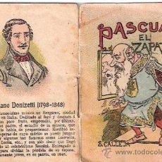 Livros de Banda Desenhada: CUENTOS DE CALLEJA. PASCUAL EL ZAPATERO. SERIE XIII. TOMO 259. 7X5CM.. Lote 25073116