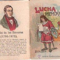 Giornalini: CUENTOS DE CALLEJA. LUCHA MEMORABLE. SERIE XIV. TOMO 280. 7X5CM.. Lote 25073407