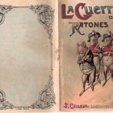 Tebeos: CUENTOS DE CALLEJA. LA GUERRA DE LOS RATONES. TOMO 7. MEDIDAS 14.5 X 10CM.. Lote 199348765