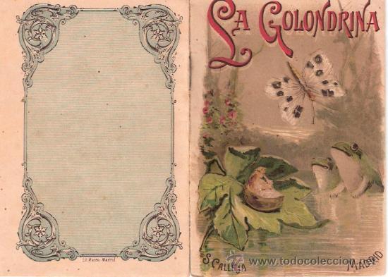 CUENTOS DE CALLEJA. LA GOLONDRINA. TOMO 84. MEDIDAS 14.5 X 10CM. (Tebeos y Comics - Calleja)