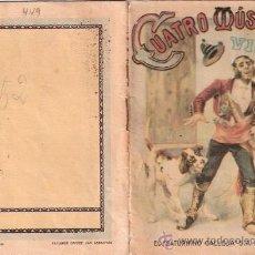 Tebeos: CUENTOS DE CALLEJA. CUATRO MUSICOS VIEJOS. TOMO 95. MEDIDAS 14.5 X 10CM.. Lote 25173170