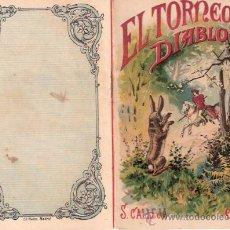 Tebeos: CUENTOS DE CALLEJA. EL TORNEO DEL DIABLO. TOMO 17. MEDIDAS 14.5 X 10CM.. Lote 25173658