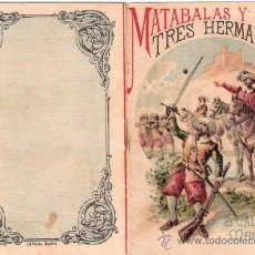 Tebeos: CUENTOS DE CALLEJA. MATABALAS Y SUS TRES HERMANOS. TOMO 20. MEDIDAS 14.5 X 10CM.. Lote 25173770