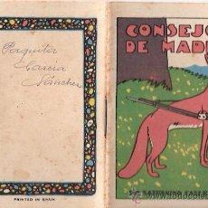 Tebeos: CUENTOS DE CALLEJA. CONSEJOS DE MADRE. SERIE I. TOMO 2. MEDIDAS 7 X 10CM.. Lote 25202035