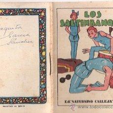 Tebeos: CUENTOS DE CALLEJA. LOS SALTIMBANQUIS. SERIE I. TOMO 18. MEDIDAS 7 X 10CM.. Lote 25202343