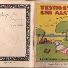 Livros de Banda Desenhada: CUENTOS DE CALLEJA. TESTIGOS CON ALAS. SERIE I. TOMO 20. MEDIDAS 7 X 10CM.. Lote 25202376