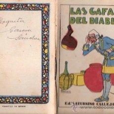 Tebeos: CUENTOS DE CALLEJA. LAS GAFAS DEL DIABLO. SERIE I. TOMO 12. MEDIDAS 7 X 10CM.. Lote 25202646