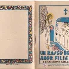 Tebeos: CUENTOS DE CALLEJA. UN RASGO DE AMOR FILIAL. SERIE III. TOMO 48. MEDIDAS 7 X 10CM.. Lote 25203047