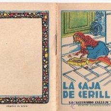 Livros de Banda Desenhada: CUENTOS DE CALLEJA. LA CAJA DE CERILLAS. SERIE III. TOMO 49. MEDIDAS 7 X 10CM.. Lote 25203054