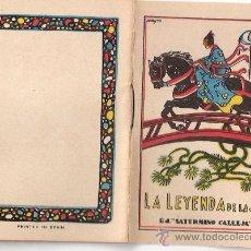 Tebeos: CUENTOS DE CALLEJA. LA LEYENDA DE LA SEDA. SERIE III. TOMO 53. MEDIDAS 7 X 10CM.. Lote 25203089