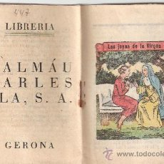 Tebeos: CUENTO INFANTIL. LAS JOYAS DE LA VIRGEN. MEDIDAS 7.5 X 10.5 CM.. Lote 25220894