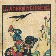 Tebeos: CUENTOS DE CALLEJA, LA AMBICIÓN DESMEDIDA, SERIE X, T. 195, MEDIDAS 6 X 8 CM., RECREO INFANTIL. Lote 27200212