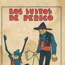 Tebeos: CUENTOS DE CALLEJA, LOS SUSTOS DE PERICO, SERIE VI, T. 115, MEDIDAS 6 X 8 CM., RECREO INFANTIL. Lote 27200269