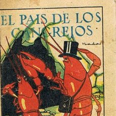 Tebeos: CUENTOS DE CALLEJA, EL PAÍS DE LOS CANGREJOS, SERIE IX, T. 176, MEDIDAS 6 X 8 CM., JOYAS PARA NIÑOS. Lote 27200509