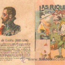 BDs: LAS RIQUEZAS DEL SABIO. CUENTOS DE CALLEJA. SERIE VIII TOMO 145 A-CALLEJA-324. Lote 27574024