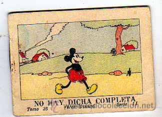 JUGUETES INSTRUCTIVOS MICKEY POR WALT DISNEY. SERIE II TOMO 25. CALLEJA. 1936. NO HAY DICHA COMPLETA (Tebeos y Comics - Calleja)