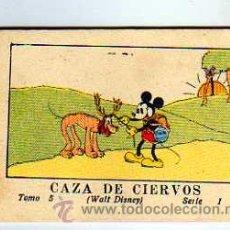 Tebeos: JUGUETES INSTRUCTIVOS MICKEY POR WALT DISNEY. SERIE I TOMO 5. CALLEJA. 1936. CAZA DE CIERVOS. Lote 28305606