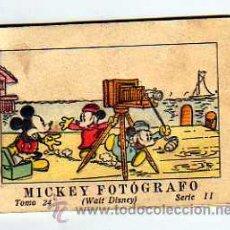Tebeos: JUGUETES INSTRUCTIVOS MICKEY POR WALT DISNEY. SERIE II TOMO 24. CALLEJA.1936. MICKEY FOTOGRAFO.. Lote 28306001